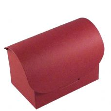 Wine Red Chest Designer Favour Boxes